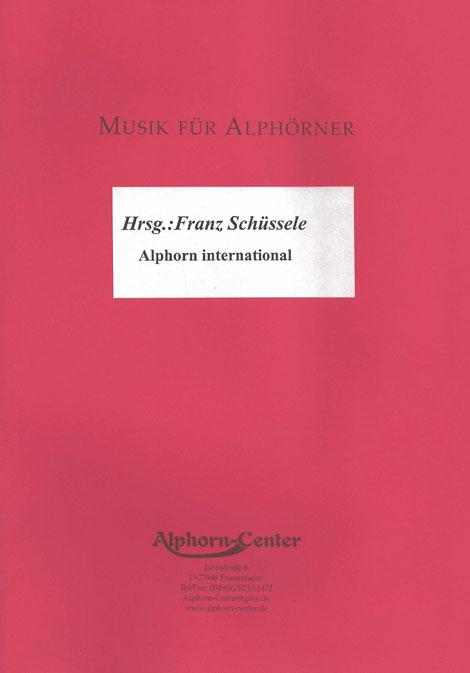 Alphorn Weihnachtslieder.Gottfried Veit Werkverzeichnis
